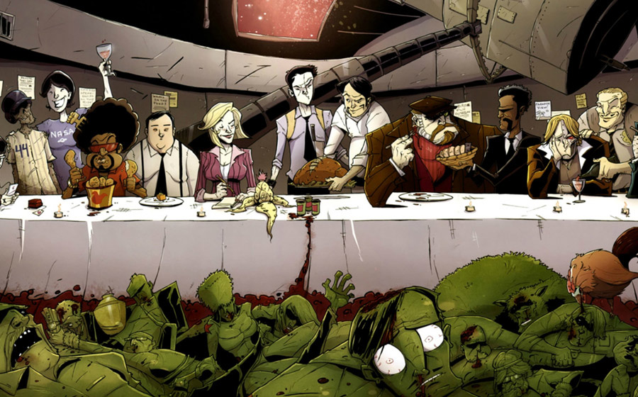 chew comic book series by John Laymen and Rob Guillory