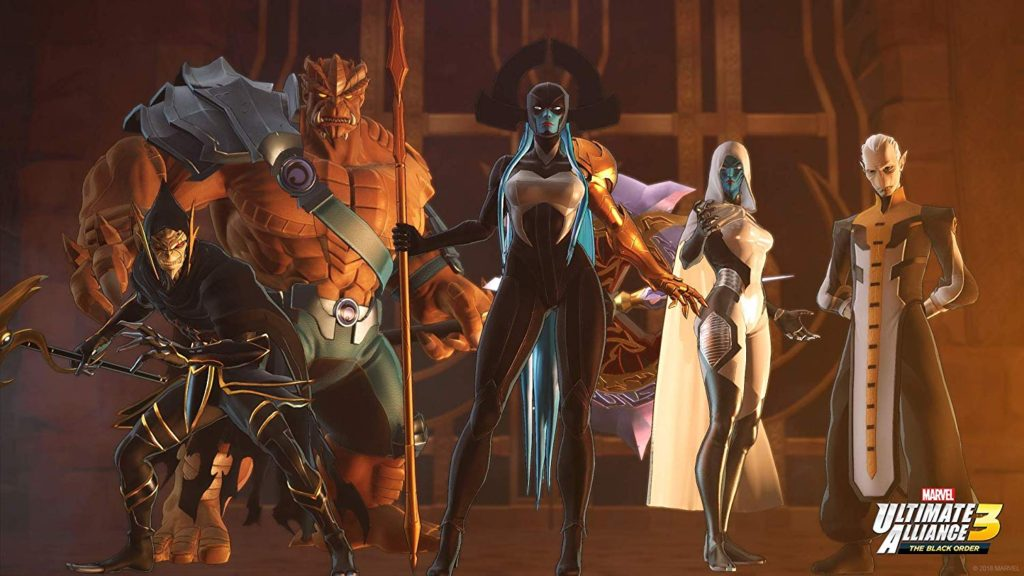 The Black Order hunts for infinity stones in Ultimate Alliance 3