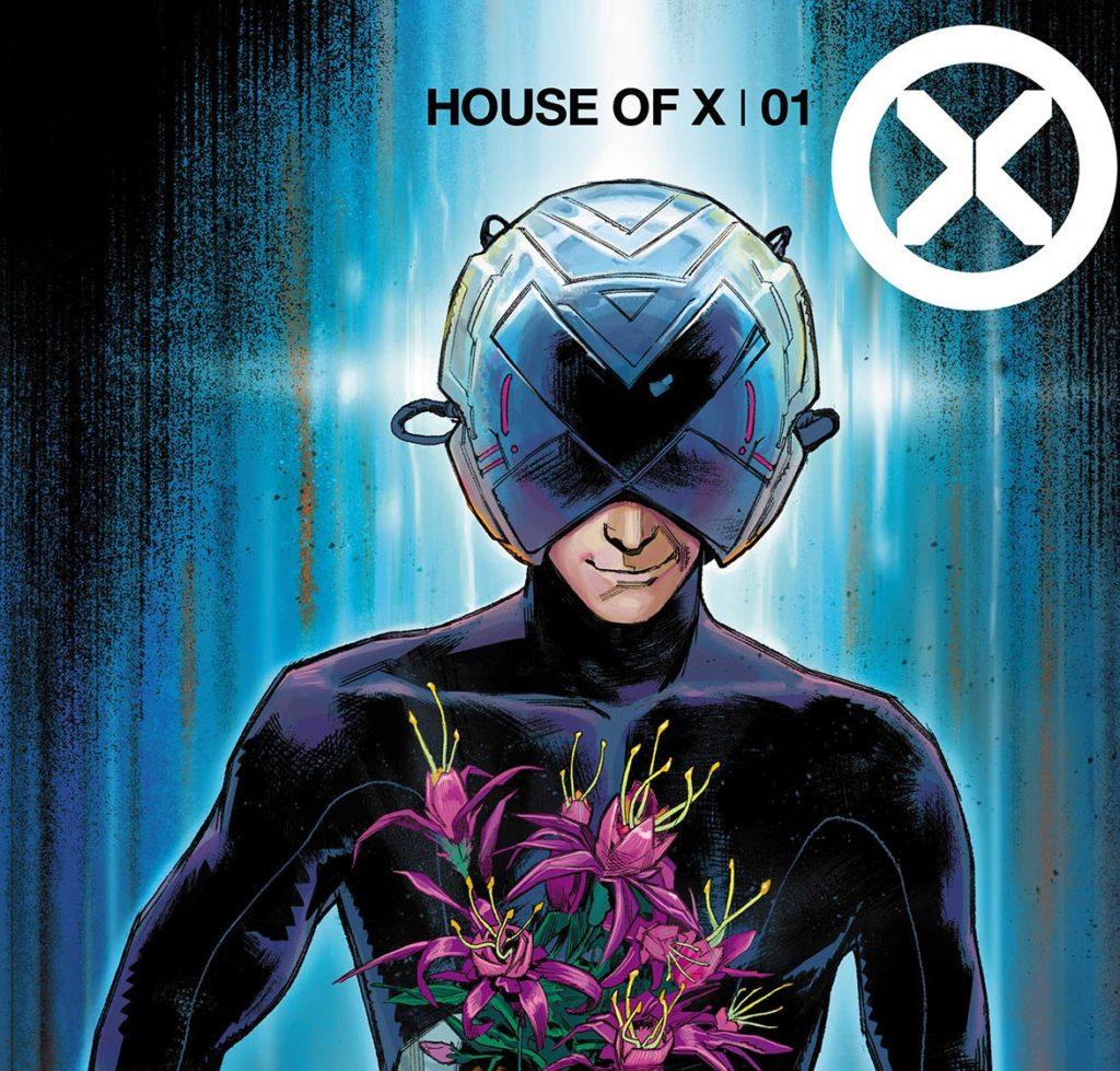Professor X with the flowers of Krakoa