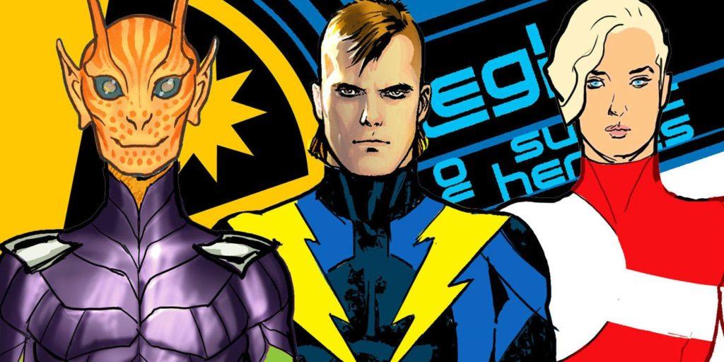 Artist Ryan Sook redesigns new Legion of Super-Heroes members for 2019