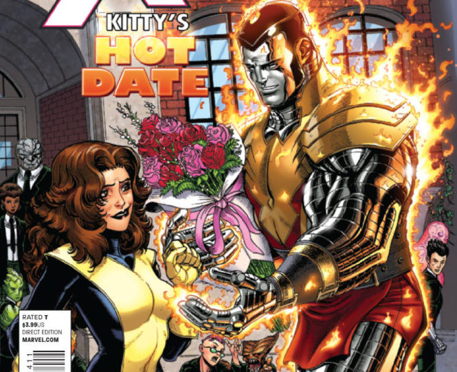 Kitty and Colossus go on a date during Avengers vs. X-Men