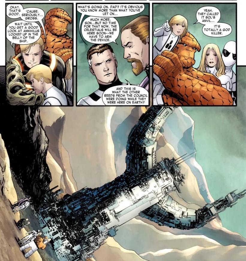 Sols Anvil from Hickman's Fantastic Four comics