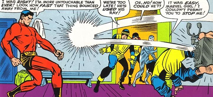 The X-Men take on Unus the Untouchable