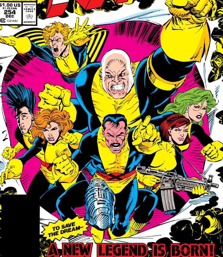 Moira and the Muir Island X-Men
