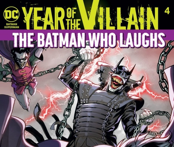The Batman Who Laughs in the pages of Batman/Superman #4