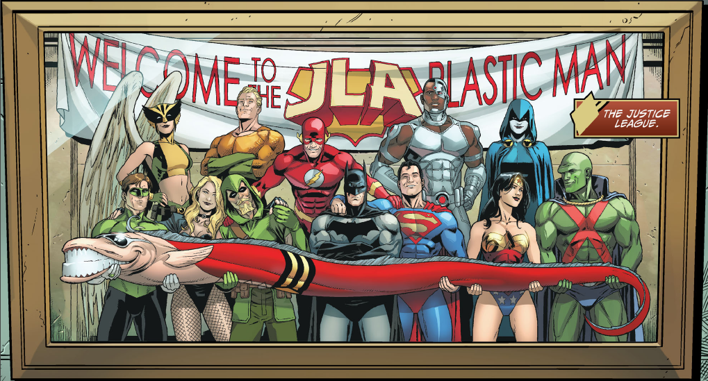 Plastic Man on DC's Justice League of America