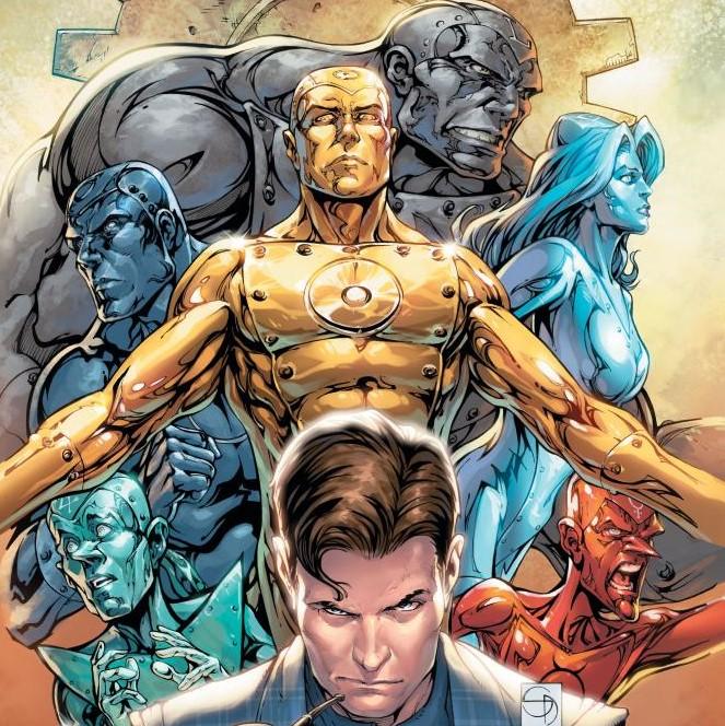 DC's Metal Men in 2019