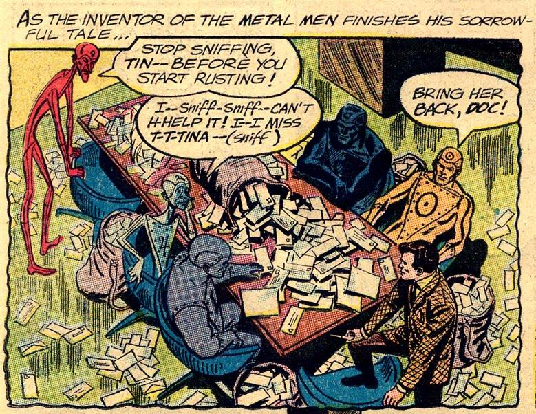 Silver Age DC Metal Men