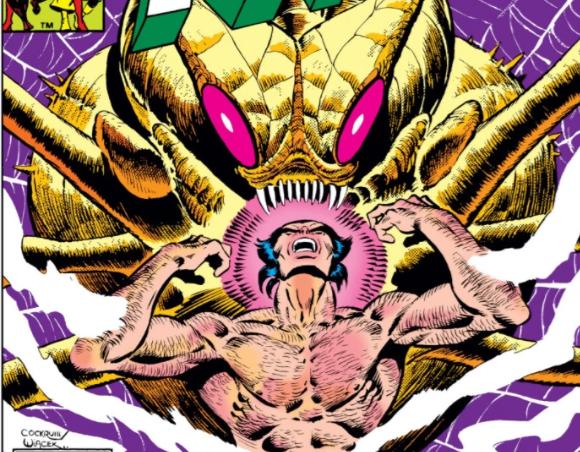 Wolverine vs Brood