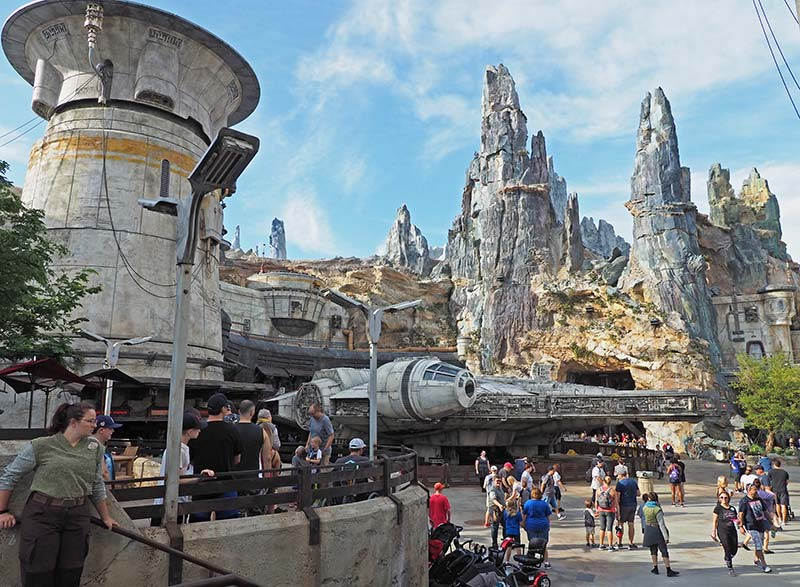 The Millennium Falcon at Disneyworlds Galaxys Edge