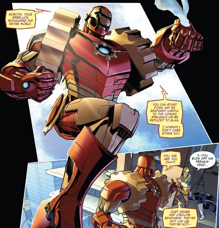 Arno Stark is Iron Man 2020