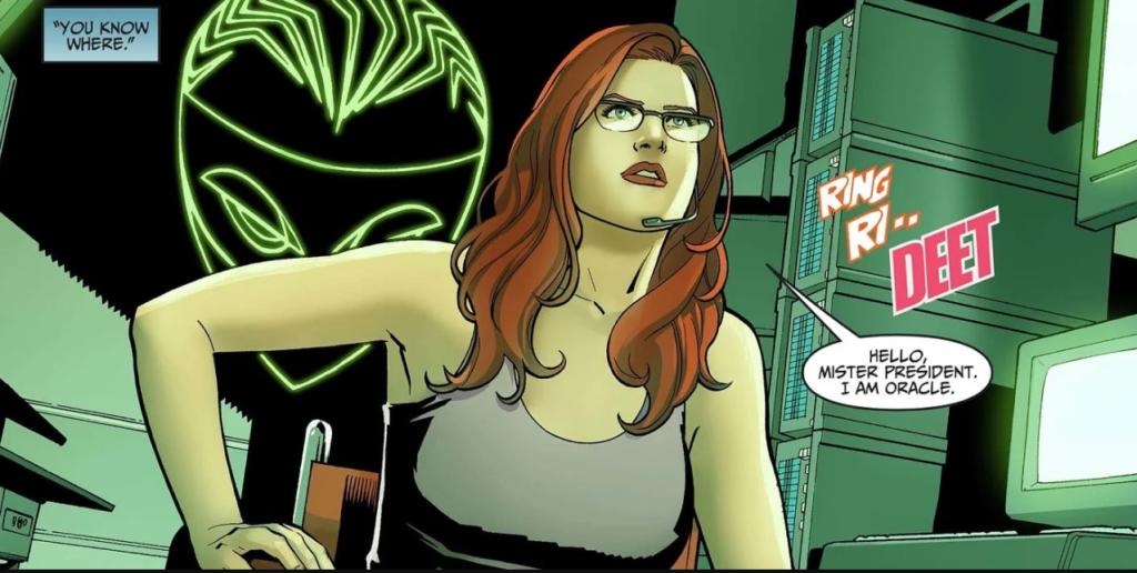 Oracle in Birds of Prey comic books