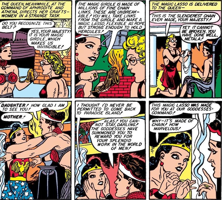 The Magic Lasso of Wonder Woman