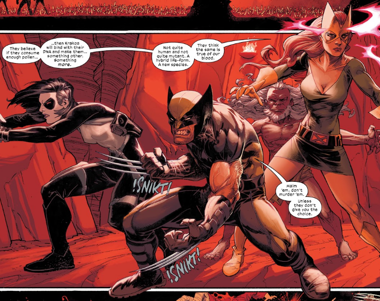 Wolverine and X-Force in the Dawn of X