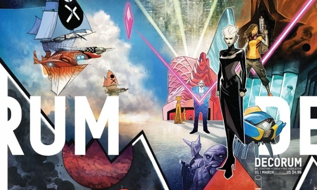 Decorum #1 by Jonathan Hickman and Mike Huddleston