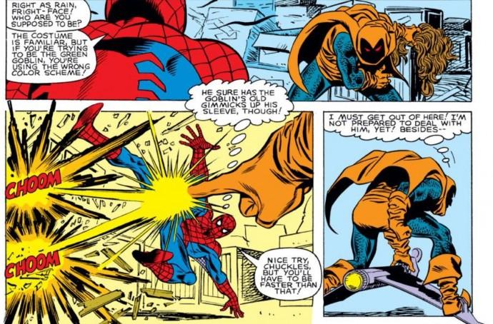 Hobgoblin in Marvel Comics debut