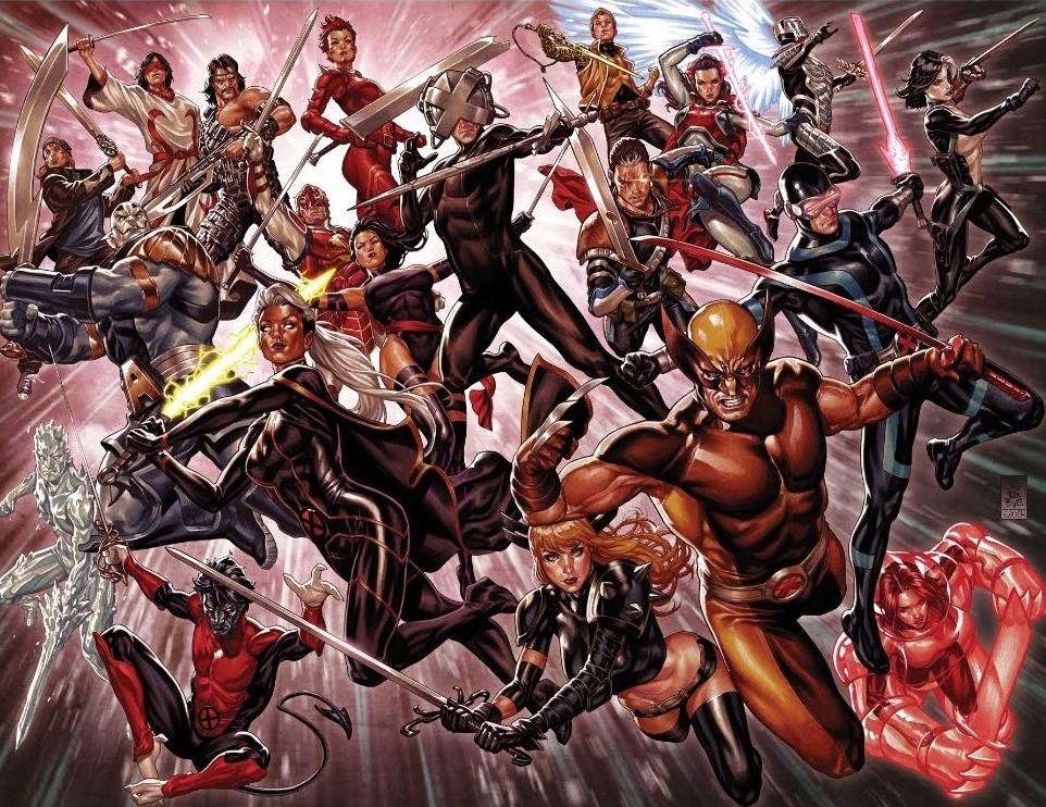 X-Men X of Swords