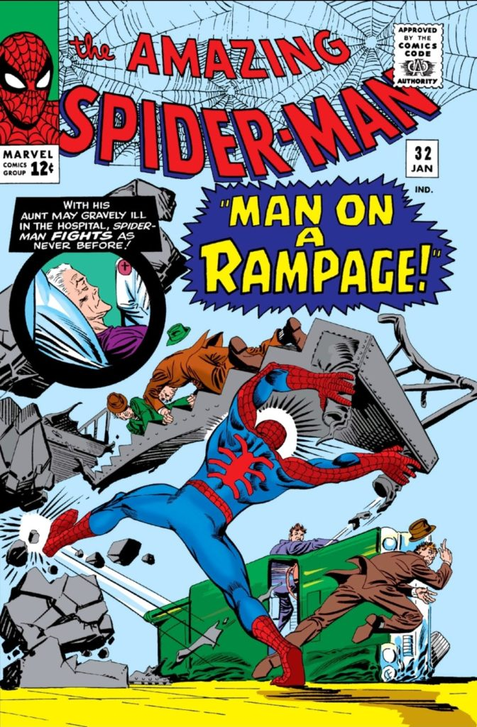 Amazing Spider-Man 32 Cover