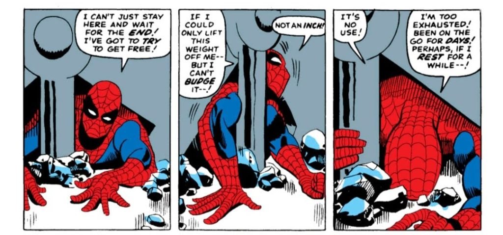 Amazing Spider-Man Trapped