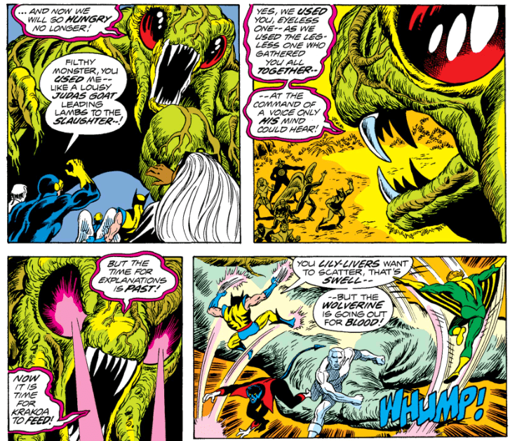 Krakoa in Giant Size X-Men 1