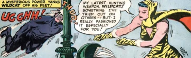 DC Huntress in Golden Age Comics