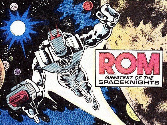 Marvel Rom comics