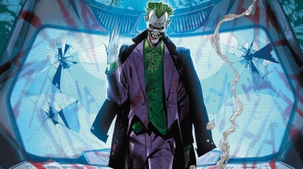 Joker prepares for war with Batman in this crossover event comic book