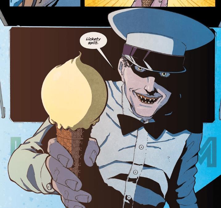 Ice Cream Man saying Lickety Split