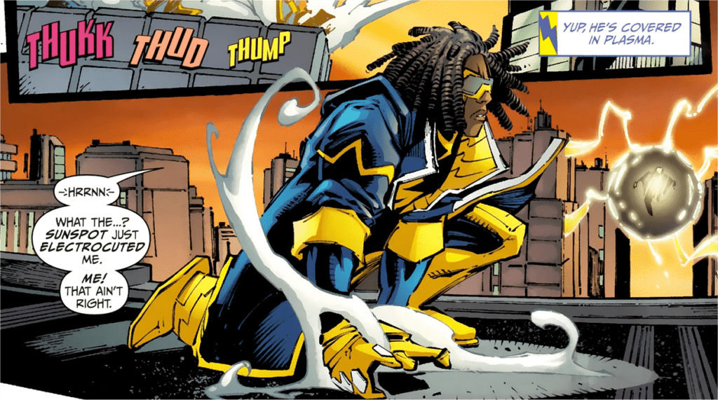 Static Shock in the DC Universe