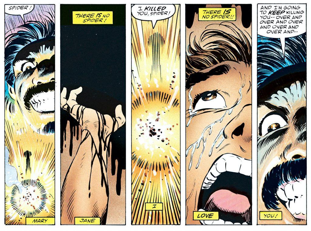 Kraven's Last Hunt comics