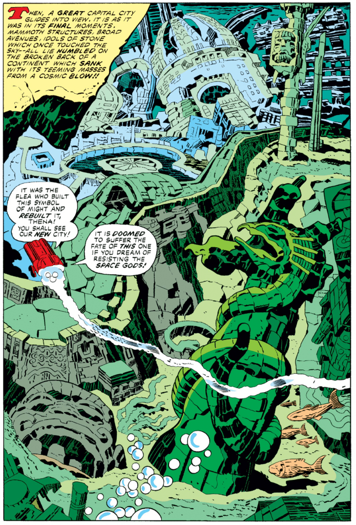 Eternals comics by Jack Kirby 2