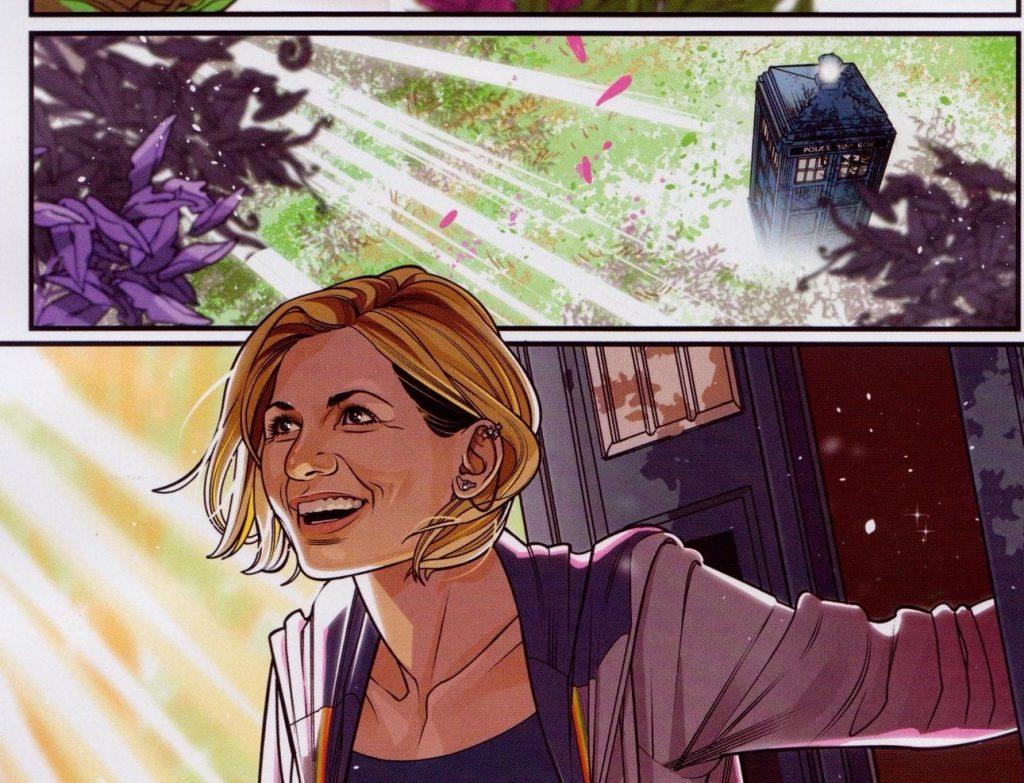 The 13th Doctor Who in Titan Comic Books