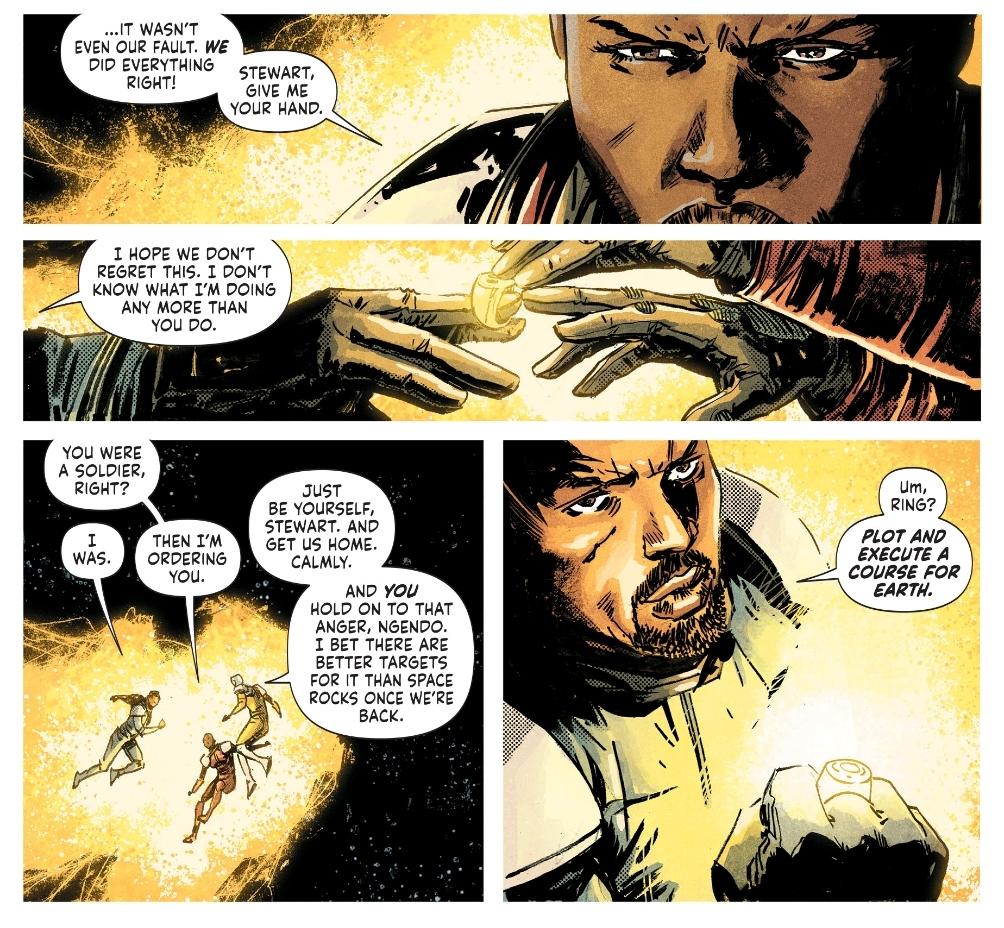 John Stewart in Green Lantern Earth One