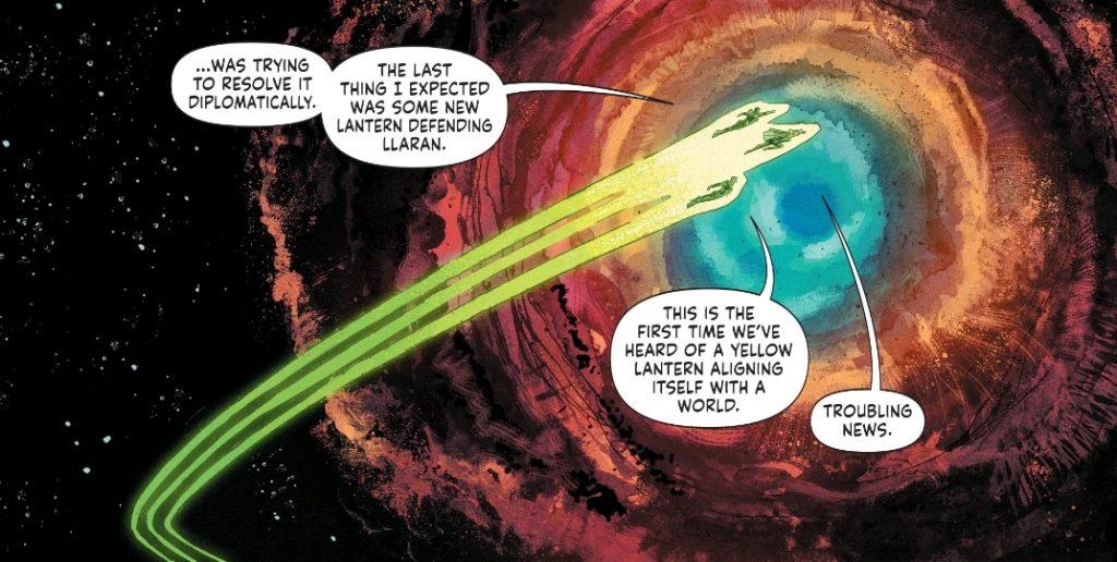 Green Lantern Earth One Vol 2 art