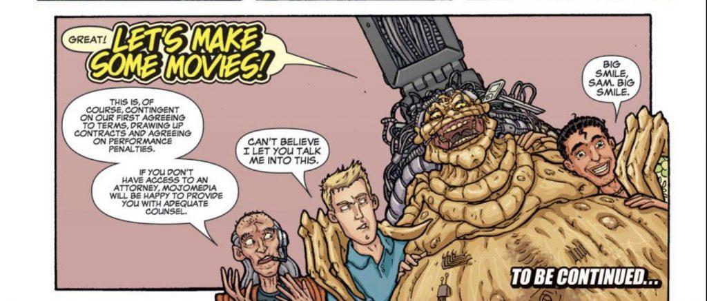 Mojo comics by Jonathan Hickman