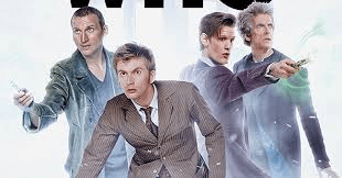 Four Doctor Whos all together