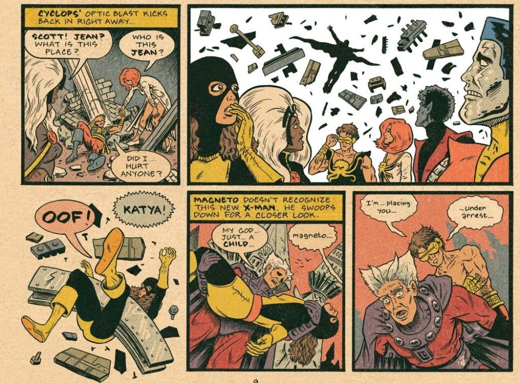 Magneto in X-Men 150