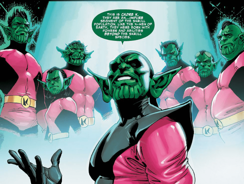 Mutant skrulls