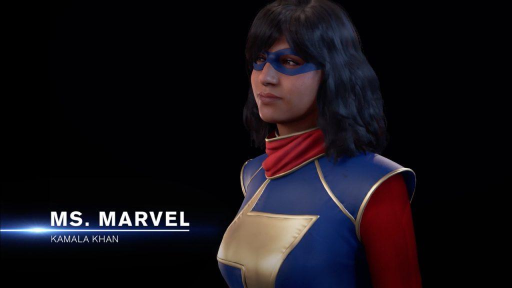 Kamala Khan in Marvel's Avengers video game