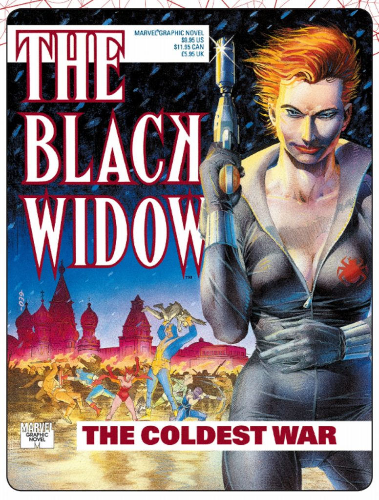 Black widow Coldest War graphic novel