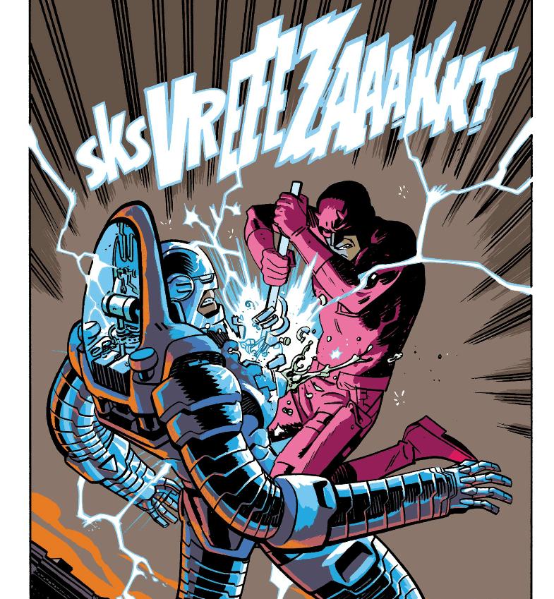 Daredevil vs Stilt-Man