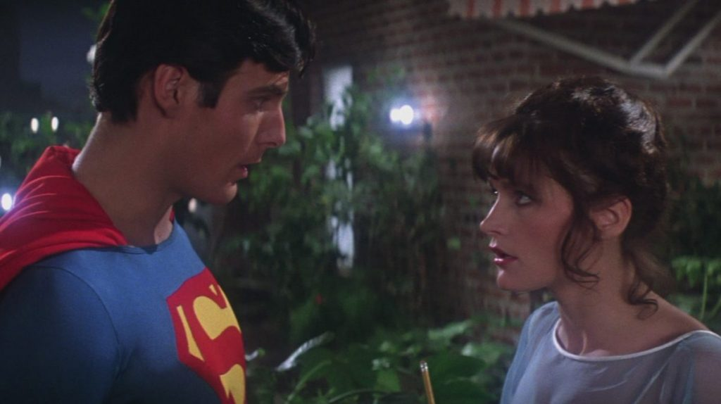 Lois and Clark in Superman 1978