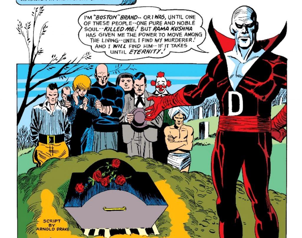 Deadman early comics