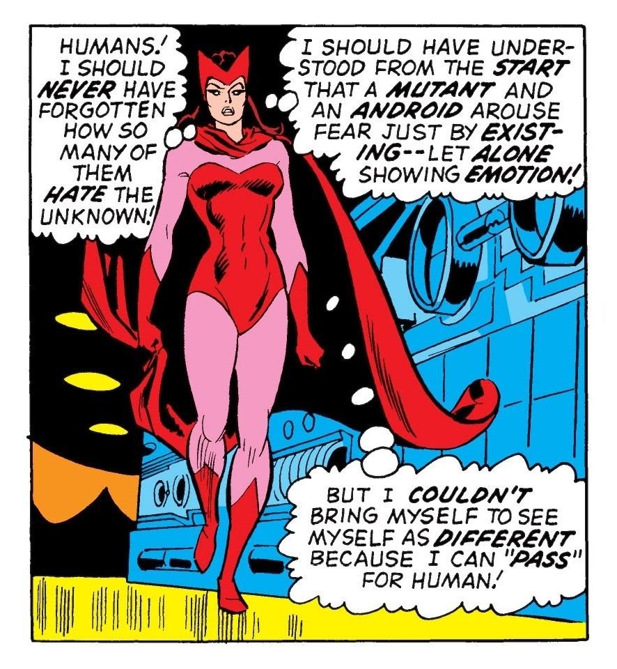 Wanda considers passing or mutant