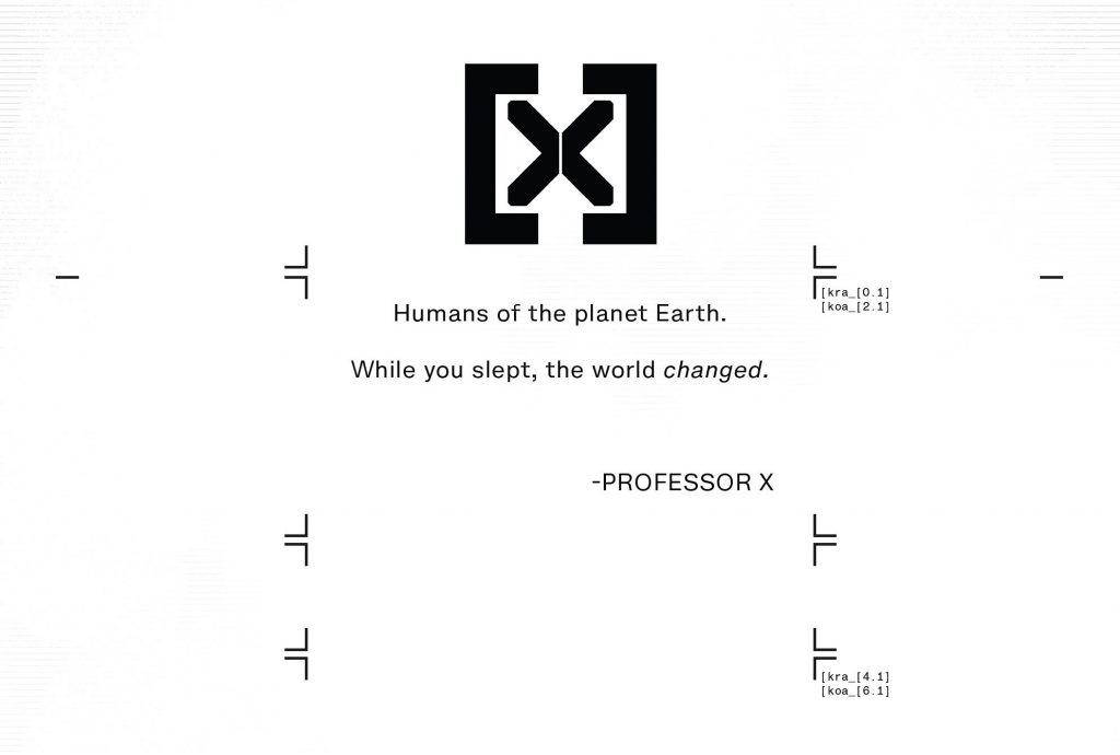 Professor X house of x quote world changed