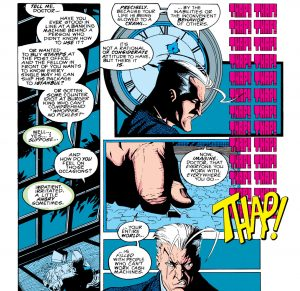 Quicksilver in X-Factor #87 by Peter David
