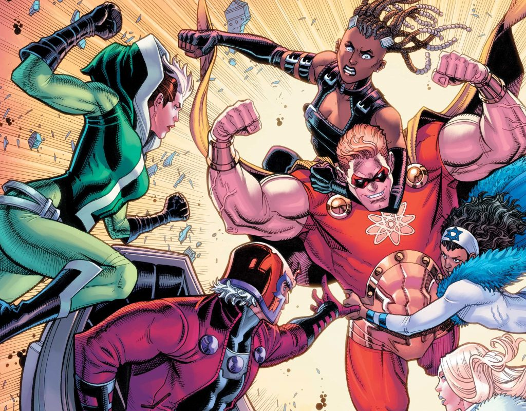 Magneto and the Mutant force in Heroes Reborn