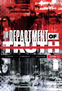 The Department of Truth 4 Cover