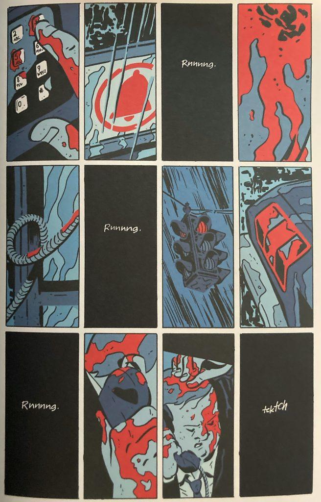 November graphic novel jigsaw puzzle