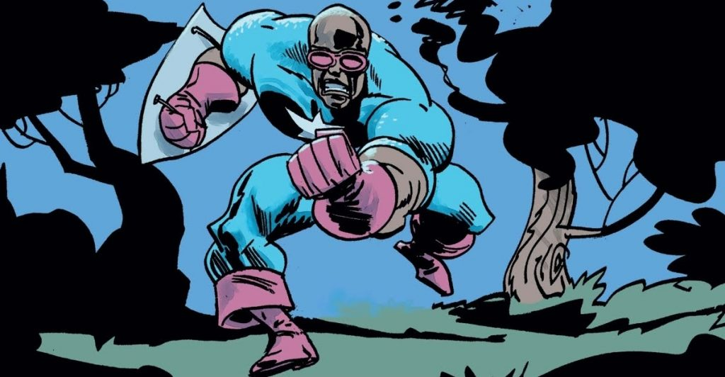 Isiah Bradley as Captain America